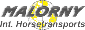 Malorny Int. Horsetransports Logo